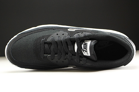 Nike Air Max 90 Essential Black Metallic Silver White Over view