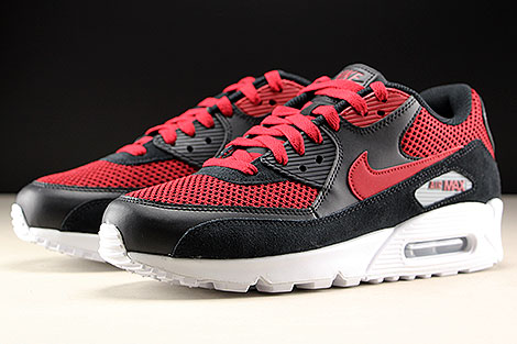 Nike Air Max 90 Essential Black Tough Red Sidedetails