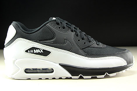 Nike Air Max 90 Essential Black Black White Right