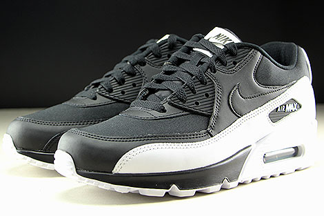 Nike Air Max 90 Essential Black Black White Sidedetails
