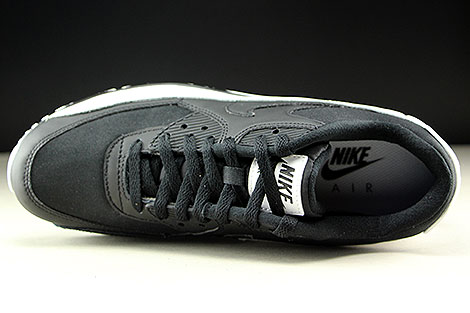 Nike Air Max 90 Essential Black Black White Over view