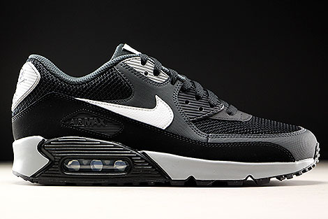 Nike Air Max 90 Essential Black White Anthracite 537384-063 ...