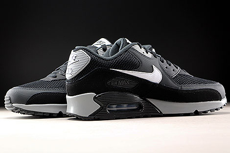 Nike Air Max 90 Essential Black White Anthracite Inside