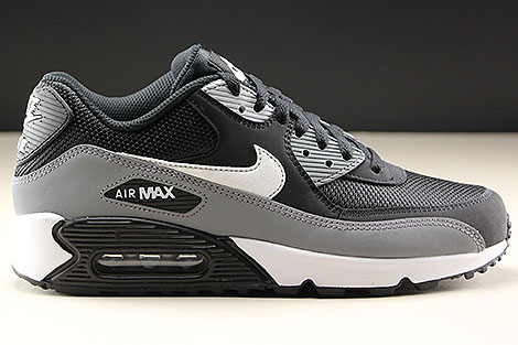 detailed look 756ec 32254 ... Nike Air Max 90 Essential Black White Cool Grey Right ...