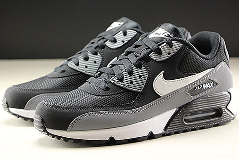 Nike Air Max 90 Essential Black White Cool Grey Sidedetails