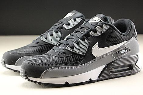 Nike Air Max 90 Essential Black White Cool Grey Seitendetail