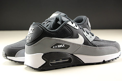 Nike Air Max 90 Essential Black White Cool Grey Inside