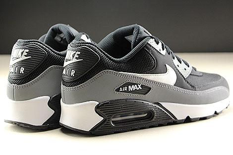 Nike Air Max 90 Essential Black White Cool Grey Rueckansicht