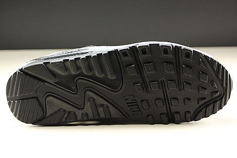 Nike Air Max 90 Essential Black White Cool Grey Laufsohle