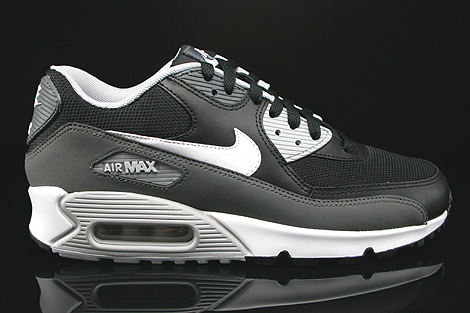 Nike Air Max 90 White And Black Grey