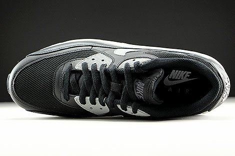 Nike Air Max 90 Essential Black Wolf Grey Anthracite White Over view