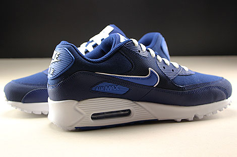 Nike Air Max 90 Essential Blue Void Game Royal White Inside