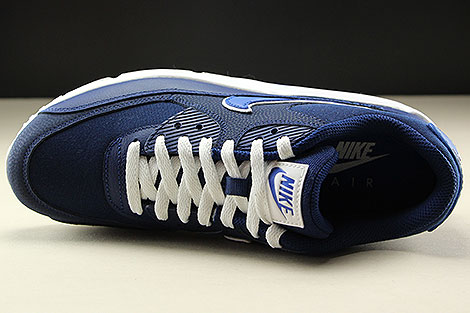 Nike Air Max 90 Essential Blue Void Game Royal White Over view