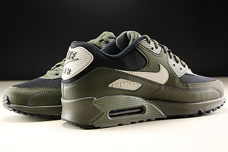 Nike Air Max 90 Essential Cargo Khaki Light Bone Inside
