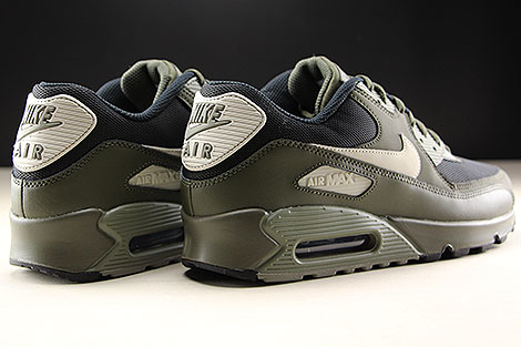 Nike Air Max 90 Essential Cargo Khaki Light Bone Back view
