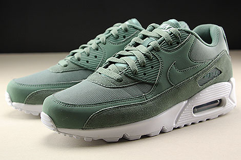 Nike Air Max 90 Essential Clay Green White Sidedetails