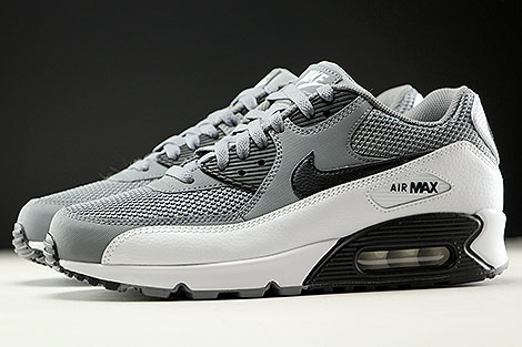 Nike Air Max 90 Essential Cool Grey Black White Profile