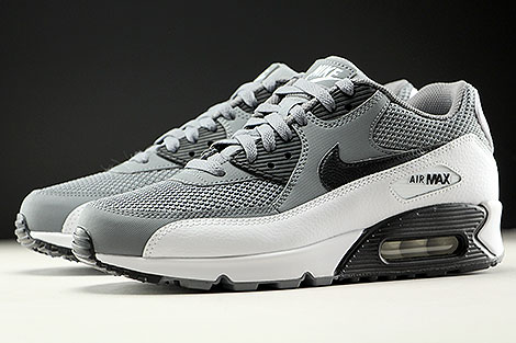Nike Air Max 90 Essential Cool Grey Black White Sidedetails