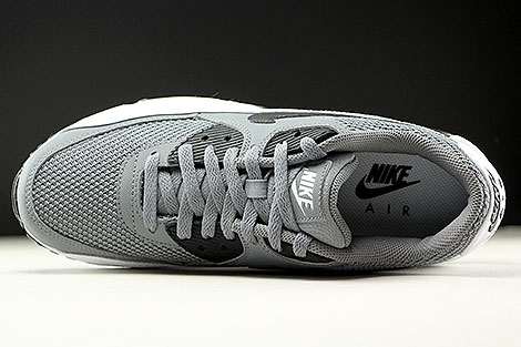 Nike Air Max 90 Essential Cool Grey Black White Over view