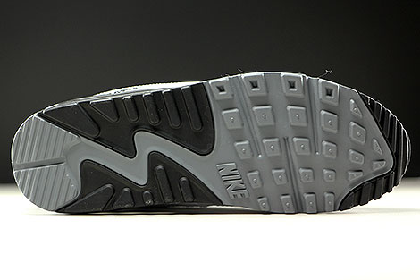 Nike Air Max 90 Essential Cool Grey Black White Outsole
