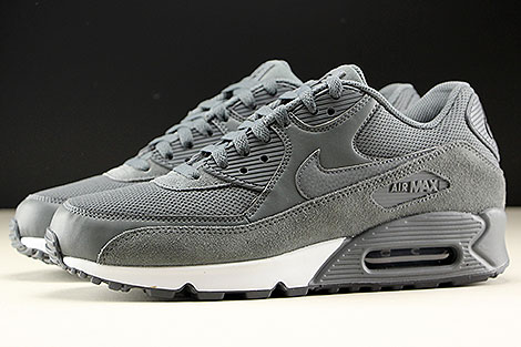 Nike Air Max 90 Essential Dark Grey Dark Grey Black Profile
