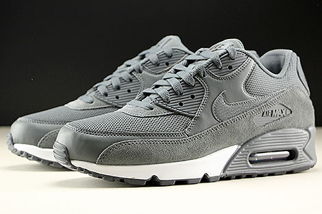 Nike Air Max 90 Essential Dark Grey Dark Grey Black Sidedetails