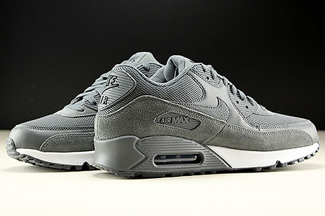 Nike Air Max 90 Essential Dark Grey Dark Grey Black Inside