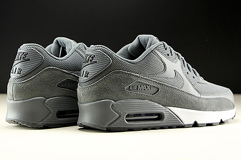 Nike Air Max 90 Essential Dark Grey Dark Grey Black Back view