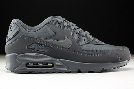 save off 1c21a b7bd3 Nike Air Max 90 Essential Dark Grey Dark Grey 537384-051 ...