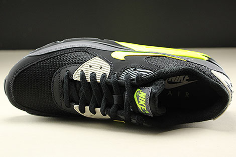 ... Nike Air Max 90 Essential Dark Grey Volt Black Oberschuh ... 5327981c3