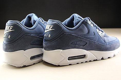 quality design 27c1d 91452 ... Nike Air Max 90 Essential Diffused Blue White Back view ...
