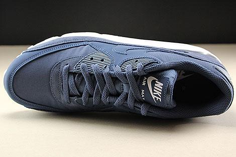 Nike Air Max 90 Essential Blau Weiss Oberschuh