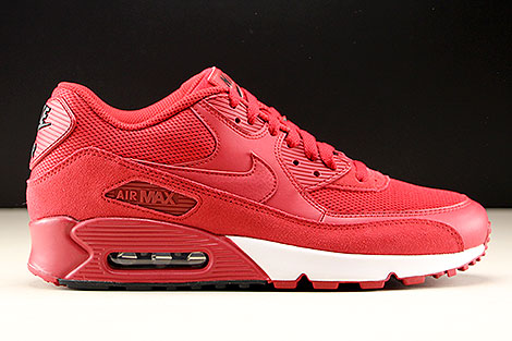 Nike Air Max 90 Essential Gym Red Black White Right