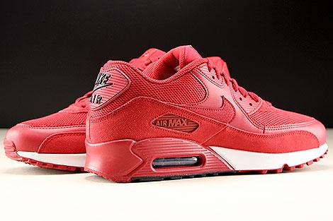 Nike Air Max 90 Essential Rot Schwarz Weiss Innenseite