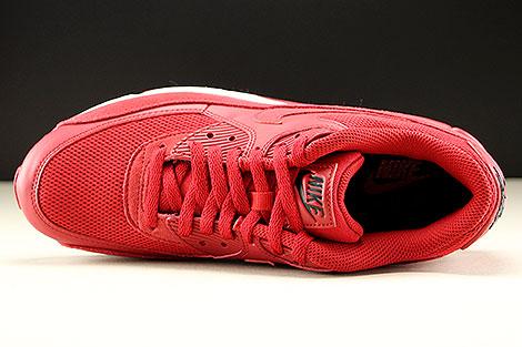 Nike Air Max 90 Essential Rot Schwarz Weiss Oberschuh