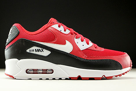 nike air max 90 essential red black