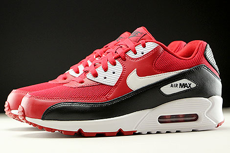 Nike Air Max 90 Essential Gym Red White Black Profile