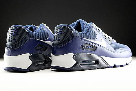 Nike Air Max 90 Essential Loyal Blue White Squadron Blue Dark Obsidian Back view