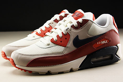 Nike Air Max 90 Essential Mars Stone Obsidian Vintage Coral Seitenansicht
