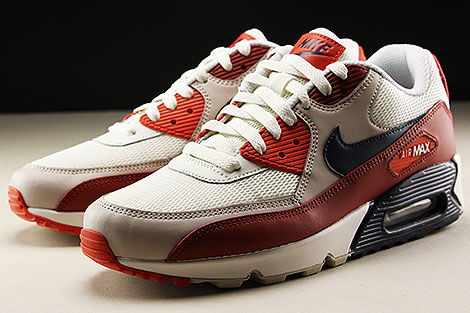 Nike Air Max 90 Essential Mars Stone Obsidian Vintage Coral Seitendetail