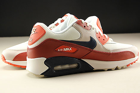 Nike Air Max 90 Essential Mars Stone Obsidian Vintage Coral Inside