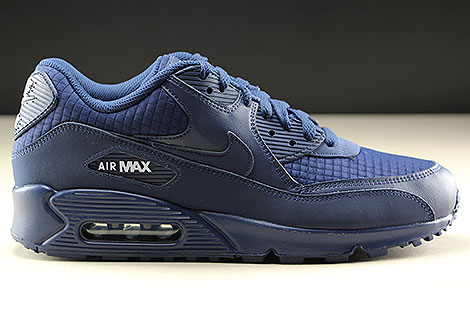 Nike Air Max 90 Essential Midnight Navy White AJ1285 404