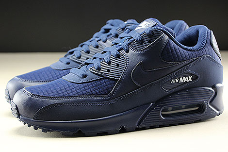Nike Air Max 90 Essential Midnight Navy White Seitenansicht