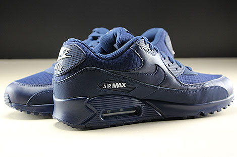 Nike Air Max 90 Essential Midnight Navy White Innenseite