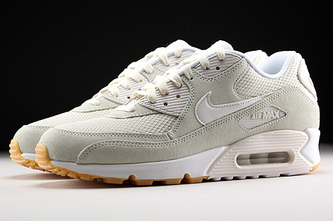 Nike Air Max 90 Essential Phantom White Gum Yellow Profile