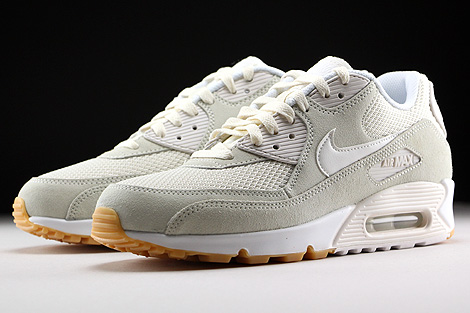 Nike Air Max 90 Essential Phantom White Gum Yellow Sidedetails