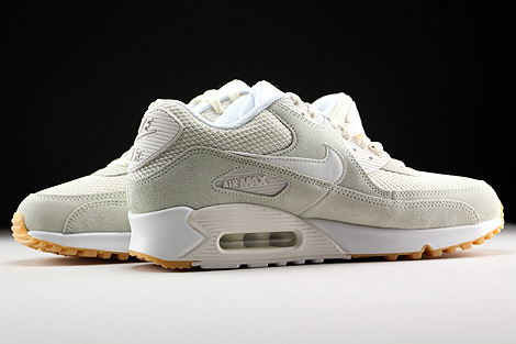 Nike Air Max 90 Essential Phantom White Gum Yellow Inside
