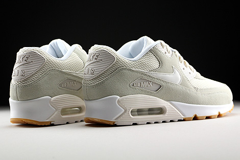 Nike Air Max 90 Essential Phantom White Gum Yellow Back view