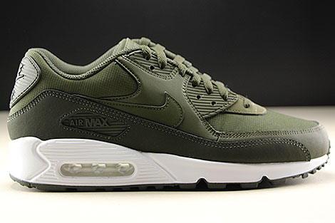 Nike Air Max 90 Essential Oliv Weiss