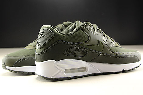 best sneakers 7106d 1a5c9 ... Nike Air Max 90 Essential Oliv Weiss Innenseite ...